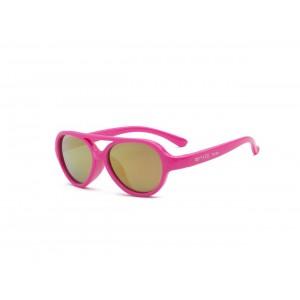 Real Shades - okulary przeciwsłoneczne Sky Neon Pink 2+ (Z2110)