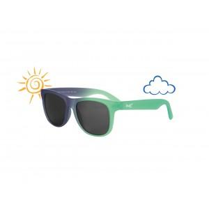 Real Shades - okulary przeciwsłoneczne Switch Green-Blue 2+ (Z2122)
