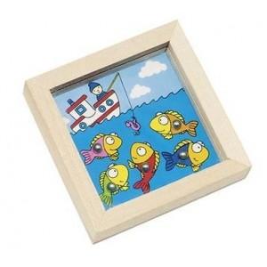 GOKI - Gra zręcznościowa - kuleczka do dołeczka - rybki (Z2147)