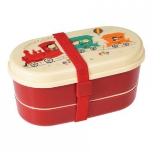 Rex London - śniadaniówka lunchbox bentobox Wesoły Pociąg (Z2167)