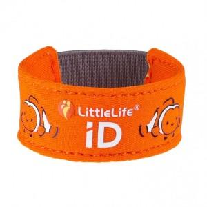 Little Life - opaska informacyjna ID neoprenowa - Rybka Nemo (Z2172)