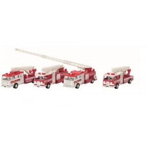 GOKI - straż pożarna z dźwiękiem i światłem na napęd (Z2221)