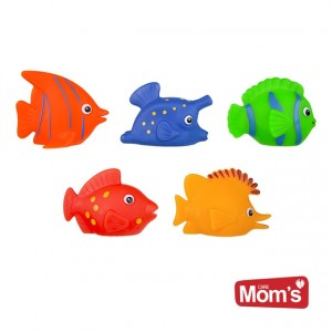 Mom's - zabawki do kąpieli - rybki 3 szt. (Z2453)