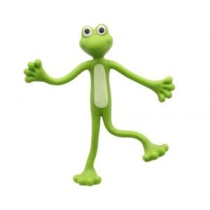 Wygibajtek - Bendy Frog - giętka wyginana żabka (Z2254)