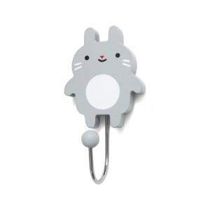 Little Bunny - wieszak Grey/Szary (Z2289)