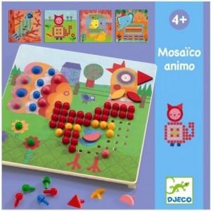 Djeco - układanka mozaika Mosaico Animo (Z2310)