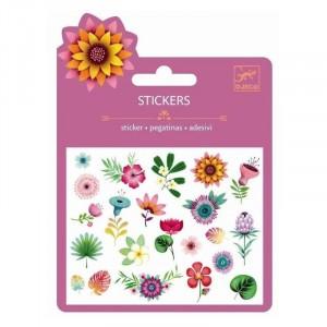 Djeco - naklejki brokatowe Kwiatki (Z2327)