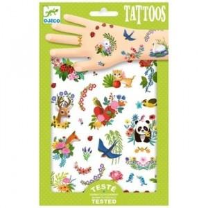 Djeco - tatuaże dla dzieci Wesoła Wiosna (Z2333)