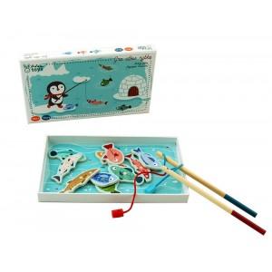 AdamToys - gra magnetyczna Pingwin na rybach (Z2353)