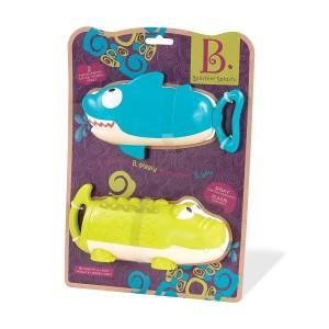 B.Toys - sikawki Rekin i Krokodyl (Z2366)