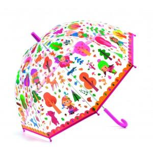 Djeco - parasol przeciwdeszczowy - Las (Z2372)