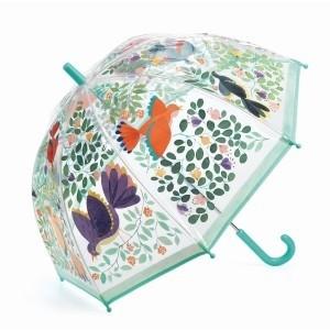 Djeco - parasol przeciwdeszczowy - Kwiaty i Ptaki (Z2373)