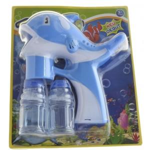 Pistolet na bańki mydlane - Delfin Niebieski (Z2394)
