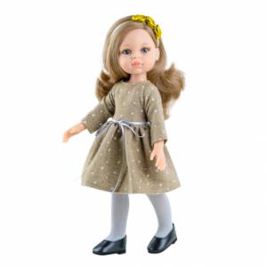 Paola Reina - Hiszpańska Lalka Carla w sukience w gwiazdki (Z2399)