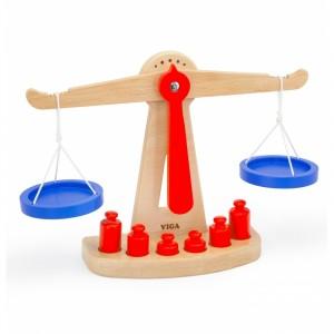 Viga - Drewniana waga sklepowa równoważna (Z2405)