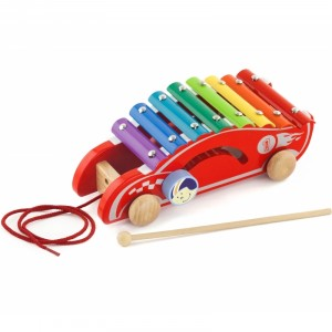 Viga - kolorowe cymbałki Samochód wyścigowy (Z2406)