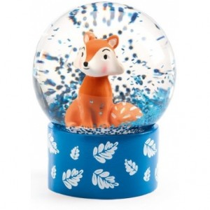 Djeco - mini kula śnieżna Rudy Lisek (Z2427)