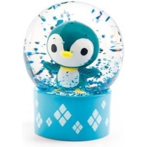 Djeco - mini kula śnieżna Pingwinek (Z2428)