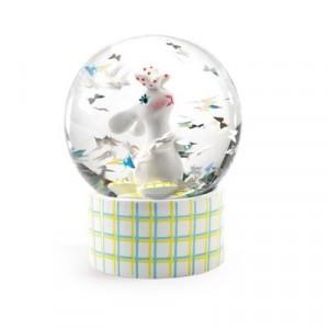 Djeco - mini kula śnieżna Króliczek (Z2429)