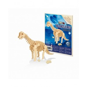 BUKI - drewniany model dinozaura - Brachiozaur (Z2437)