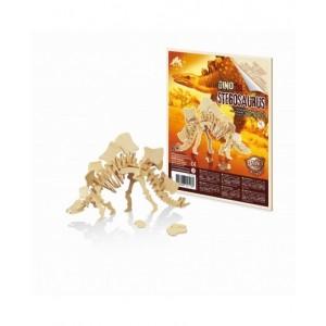 BUKI - drewniany model dinozaura - Stegozaur (Z2438)