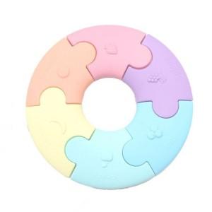 Jellystone - pierwsze puzzle sensoryczne - pastelowe (Z2469)