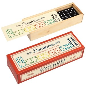 Rex London - drewniane domino w stylu vintage (Z2473)
