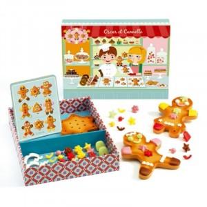 Djeco - dekorowanie ciasteczek - Oscar i Cynamonki(Z2513)