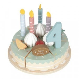 Little Dutch - drewniany tort urodzinowy (Z2557)
