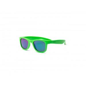 Real Shades - okulary przeciwsłoneczne Surf Neon Green 2+ (Z2753)