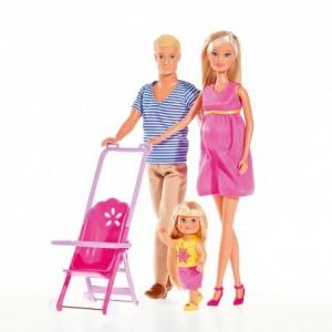 SIMBA - Lalka Stefii Love Szczęśliwa Rodzina (Z2580)