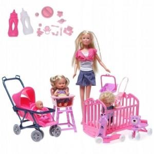 SIMBA - Lalka Stefii Love w pokoju dziecięcym (Z2585)