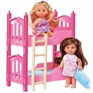 SIMBA - Laleczka Evi Love z piętrowym łóżeczkiem (Z2589)