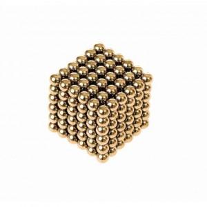 Neocube Klocki magnetyczne kulki 5mm 216 el. - Złote (Z2681)