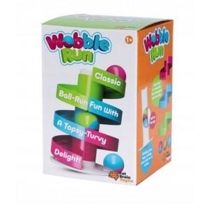 Fat Brain Toy - kołyszący tor dla kulek - kulodrom - Wooble Run (Z2690)