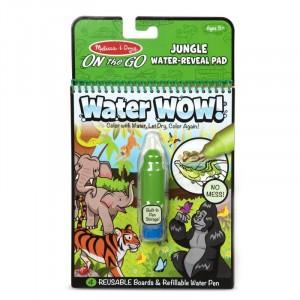 Melissa&Doug - Water Wow Wodna kolorowanka wielokrotnego użytku - Dżungla (Z2698)