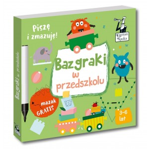 Kapitan Nauka - Bazgraki w przedszkolu (Z2703)