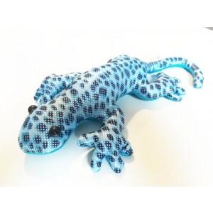 Zwierzątko z piaskiem M - jaszczurka niebieska (Z2707)