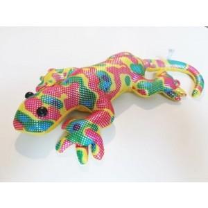 Zwierzątko z piaskiem M - jaszczurka kolorowa (Z2708)