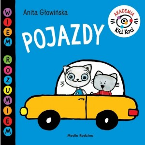Kicia Kocia - Akademia Kici Koci - Pojazdy (Z2722)