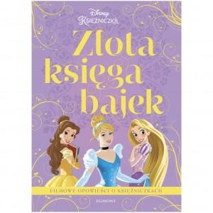Egmont - Złota księga bajek - Filmowe opowieści o księżniczkach (Z2734)