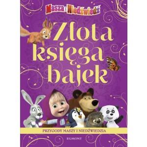 Egmont - Złota księga bajek - Przygody Maszy i Niedźwiedzia (Z2737)