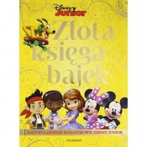 Egmont - Złota księga bajek - Najpopularniejsi bohaterowie Disney Junior (Z2738)
