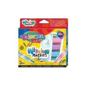 Colorino - kredowe markery do szkła - Pastelowe (Z2745)