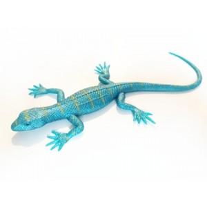 Rozciągliwa jaszczurka - niebieska perłowa (Z2789)