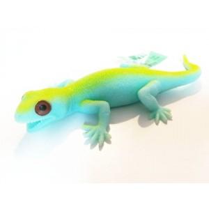 Jaszczurka z groszkiem - błękitna (Z2790)