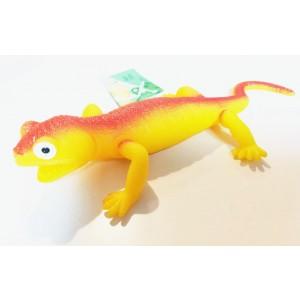 Jaszczurka z groszkiem - żółta (Z2791)