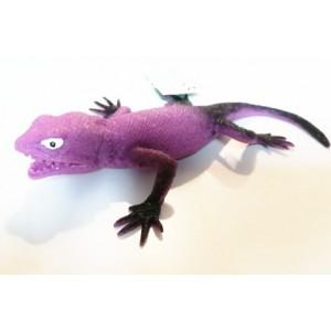 Jaszczurka z groszkiem - fioletowa (Z2792)