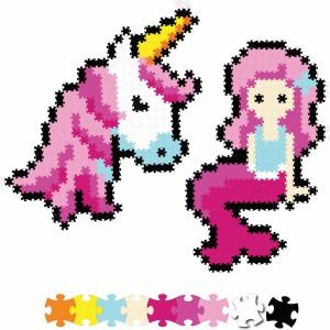 Fat Brain Toys - Jixelz Puzzelki Pixelki - Bajkowi przyjaciele 700 elementów (Z2816)