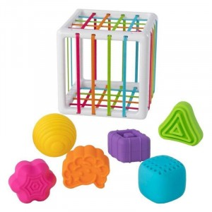Fat Brain Toys - InnyBin - Elastyczna kostka sorter (Z2820)